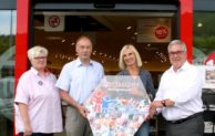 """Olsberg: 1000-Euro-Spende für  Projekt """"Du bist dabei"""""""