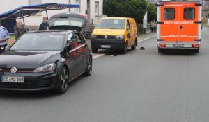 Schwerer Verkehrsunfall in Finnentrop-Lenhausen