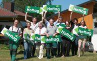 Wittgensteiner Rinder beim Tag des offenen Hofes in Siegen