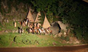 Lennestadt: Halbzeit beim Elspe-Festival und Beginn der Abendvorstellungen