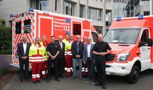 Hochsauerlandkreis  – Neue Fahrzeuge für die Notfallrettung: Einheitliches Konzept erleichtert Beschaffung und Nutzung
