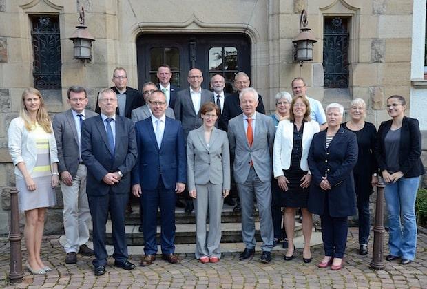 Photo of Lob für gute Zusammenarbeit: Lenkungskreis führte mit Ministeriumsvertretern Kooperationsgespräch