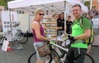 Neue Infokarte zum Radnetz ein Renner – Infostand des Kreises beim Sattelfest voller Erfolg