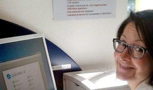 Drucken, recherchieren, Mails versenden: Neues PC-Angebot in Stadtbücherei Olsberg