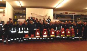 Feuerwehrleute trainierten Umgang mit Defibrillatoren in Burbach