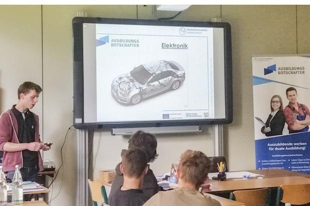 """Photo of Initiative """"Ausbildungsbotschafter"""" im Handwerk verbucht Erfolge"""