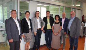 SPD-Regionalratsfraktion informierte sich über die Arbeit der DRK-Kinderklinik in Siegen