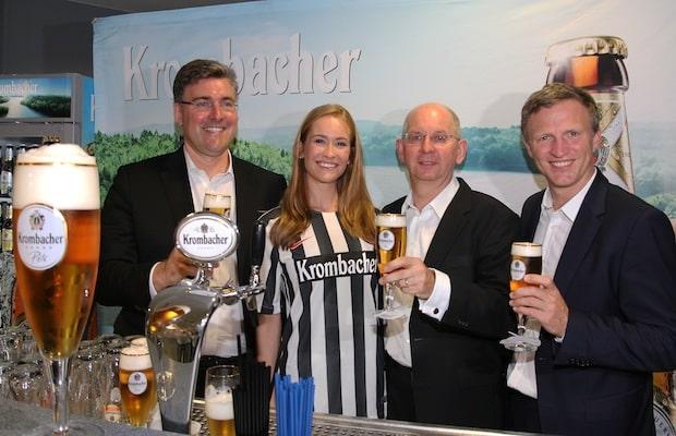 Photo of Kreuztal: Krombacher wird erneut Hauptsponsor von Eintracht Frankfurt