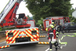 <b>Gemeinschaftsübung der Feuerwehren Attendorn und Olpe</b>