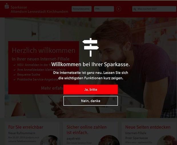 Photo of Neuer Internetauftritt der Sparkasse Attendorn-Lennestadt-Kirchhundem