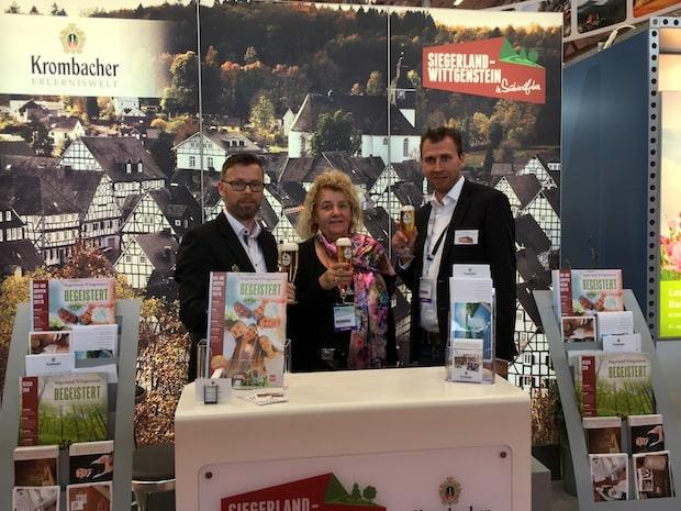 Photo of Siegen – TVSW und Krombacher präsentieren Region auf wichtigster Messe für Bus- und Gruppenreisen