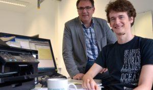 Kanadischer Student unterstützt bei Doktorarbeit in Iserlohn