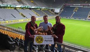 Menden: Westfalenbäckerei Niehaves neuer Produkt Partner des BVB