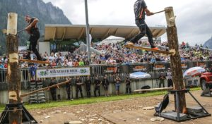 Saisonfinale der Sportholzfäller in Winterberg