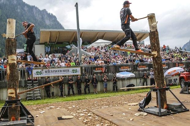Photo of Saisonfinale der Sportholzfäller in Winterberg