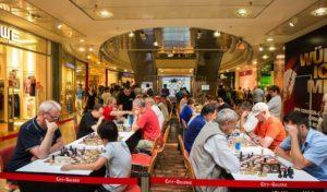 Offenes Schach-Turnier in der City-Galerie Siegen am 6. August 2016