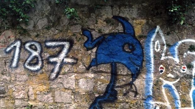 Photo of Korbach – Graffitischmierereien an der Stadtmauer im Hospitalhagen