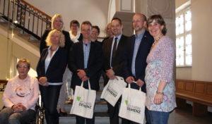 Netzwerk Demenz Region Olpe Drolshagen Wenden traf sich mit Bürgermeistern
