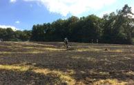 10.000m² Grasfläche brannten in Attendorn-Wörmge