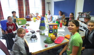 Kinder erleben vergangene Zeiten im Schloss Bad Berleburg