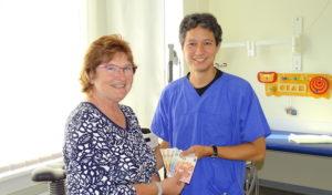kdf Netphen spendet für Kinderkardiologie der Kinderklinik Siegen
