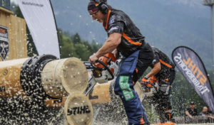 STIHL TIMBERSPORTS® Series in Winterberg: Local Hero will achten Titel holen