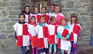 Ferien Fun Days: Kinder in Altena in den Ritterstand  erhoben