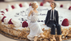 Baumkuchen statt Hochzeitstorte