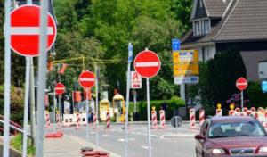 Arnsberg: Bau der Ruhrterrassen an der Ruhrstraße