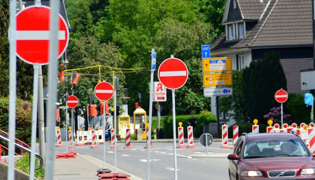 Photo of Arnsberg: Straßenbauarbeiten im Wohngebiet Trift