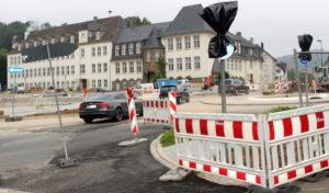 Attendorn: Fertigstellung Kreisverkehr Ennester Tor