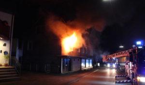 Wohnhausbrand in Lennestadt