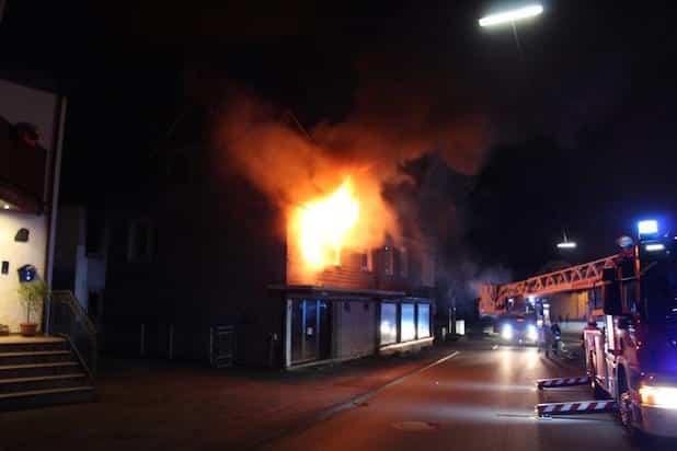 Photo of Wohnhausbrand in Lennestadt