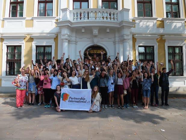 Kalifornien, Colorado, Texas und Arizona! Aus diesen US-Staaten kommen die amerikanischen Jugendlichen ab September nach Deutschland. - Quelle: Partnership International e.V.