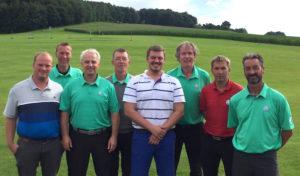 Sieg und Aufstieg für die Clubmannschaft vom Golfclub Werl