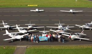 """Glasair-Convention auf dem Siegerland-Flughafen: """"Gläserne"""" Rennpferde zu Hause gebaut"""