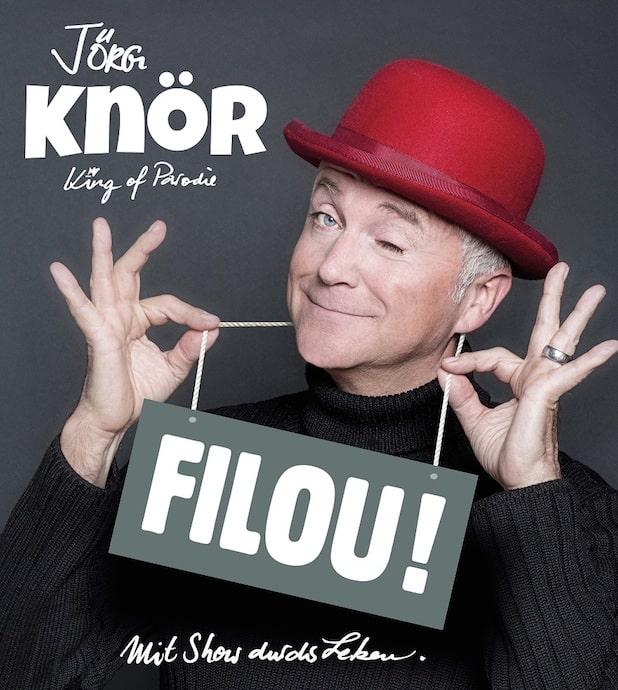 """Photo of Jörg Knör mit """"FILOU!"""" in der Stadthalle Attendorn"""
