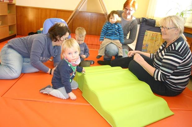 Die Welt entdecken und erobern können die Kleinsten in der neuen Krippengruppe im Städtischen Kindergarten Wiemeringhausen. Foto: Städtischer Kindergarten