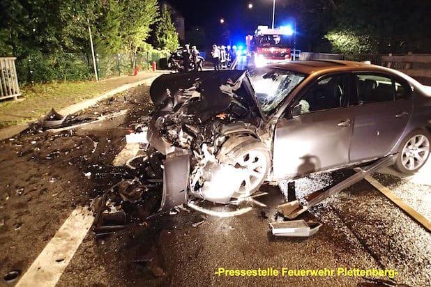 Photo of Plettenberg: Schwerer Verkehrsunfall nach Frontalzusammenstoß