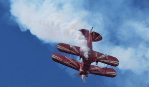 Aero-Parade auf der Lippe: 8.000 Luftfahrt-Fans trotzten dem durchwachsenen Wetter