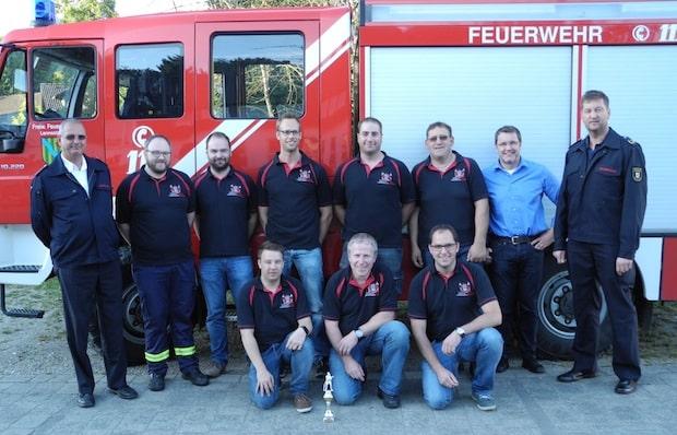 Photo of Löschgruppe Oedingen: Platz 1 beim Leistungsnachweis der Feuerwehren