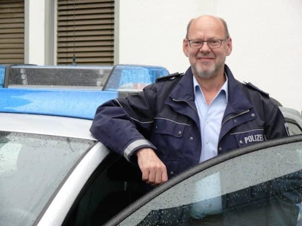 Verkehrssicherheitsberater Gisbert Finke. Foto: Polizei Soest