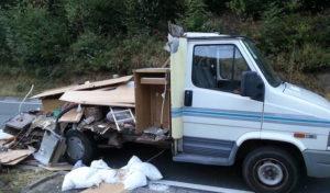 Schalksmühle: Wohnmobil komplett zerstört