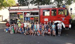 Pilotprojekt der neuen Arnsberger Kinderfeuerwehr in Oeventrop und Rumbeck gestartet