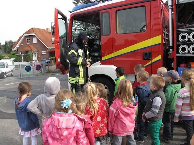 Photo of Kindergarten-Kinder aus Wennigloh sind gut auf Notfall vorbereitet