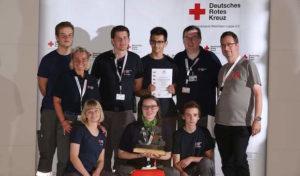 DRK Gemeinschaft Marsberg erreicht 3. Platz beim Landeswettbewerb