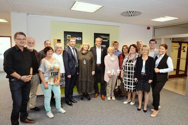 Photo of Hemer: Empfang von russischer Delegation im Rathaus
