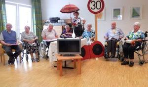 Theatergruppe der Seniorenpflegeeinrichtung Haus Obere Hengsbach überzeugte ihr Publikum