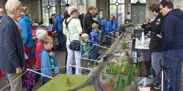 Große Modellbahnausstellung der I.G. Modellbahn Dielfen im Technikmuseum Freudenberg