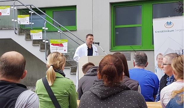 Photo of Kreisklinikum Siegen: Gewerkschaft ver.di lädt Beschäftigte zur aktiven Mittagspause